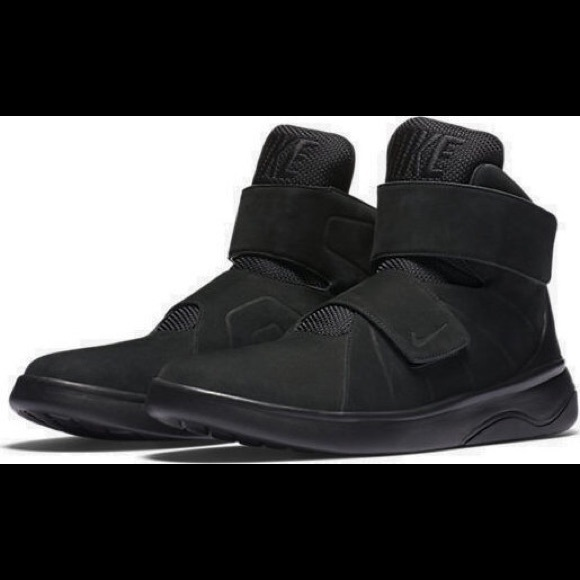 nike high top with strap